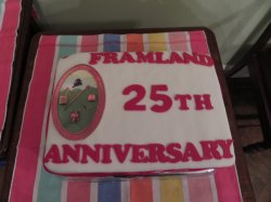 FRAMLAND HUNDRED 25TH YEAR ANNIVERSARY, 18TH APRIL 2017