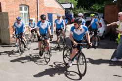 300TH CYLCLE RIDE AT WICKLOW-JUNE17