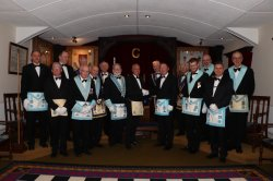 St Marys Lodge Meeting - 23rd April 2018 - Passing of a candidate from The Morley Lodge 8320 - London Road, Leicester